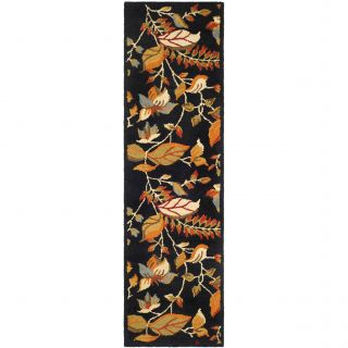 Safavieh Blossom Black/Multi Area Rug