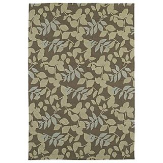 Kaleen Home & Porch Wymberly Coffee Indoor/Outdoor Area Rug; 76 x 9