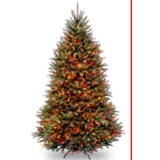 National Tree Co. Dunhill Fir 7.5 Hinged Green Artificial Christmas