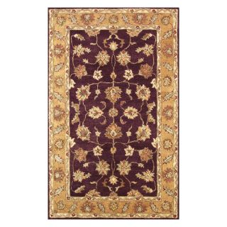Noble House Golden Area Rug   Burgundy/Gold   Area Rugs