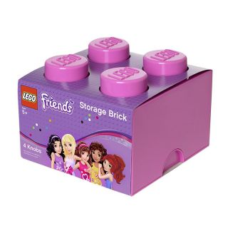 LEGO Friends Storage Brick 4 Toy Box   Toy Storage