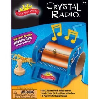 Alex Brands Scientific Explorer Crystal Radio Mini Lab
