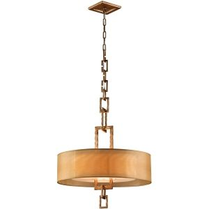 Troy Lighting TRY F2874 Link Bronze Leaf  Pendants Lighting