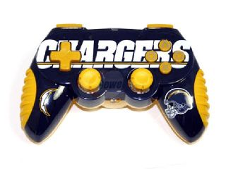 Mad Catz Officially Licensed San Diego Chargers NFL Wireless PS2 Controller
