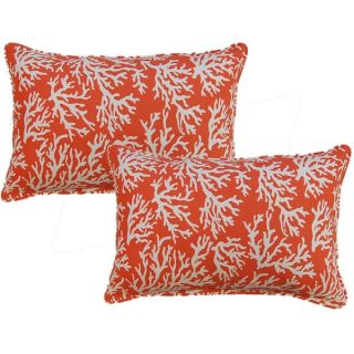 Safavieh Soleil Whitney Indoor/ Outdoor Tropical Orange 20 inch Square