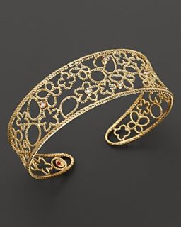 "Roberto Coin ""Bollicine"" 18K Yellow Gold and Diamond Cuff"