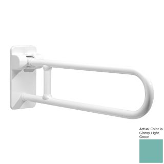 Ponte Giulio USA 33.5 in Glossy Light Green Wall Mount Grab Bar