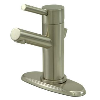 Kingston Brass KS8428DL Satin Nickel Ks842 dl Bathroom Faucet   Build