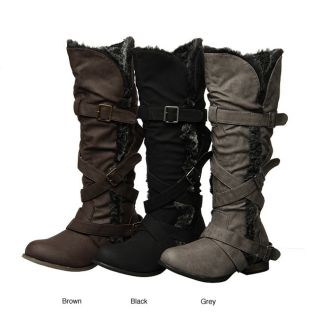 Groove Womens Rodeo Faux Fur Lined Boots  ™ Shopping