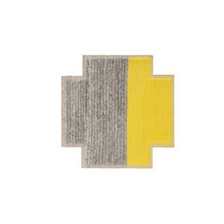Mangas Space Plait Yellow Area Rug by GAN RUGS