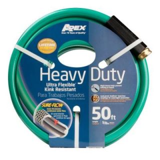 Apex 5/8 in. Dia x 50 ft. Heavy Duty Water Hose 8509 50'