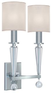 Crystorama Lighting Group 8102 PN Polished Nickel Wall Light   Build