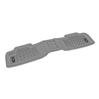 Rugged Ridge Floor Liner Rear 1 Piece Gray 2011 2014 Jeep Gr and Cherokee WK2 14950.15