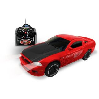 24 Red Ford Mustang GT R/C Car